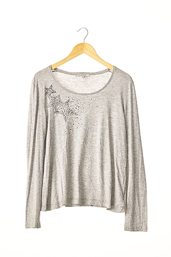 T-shirt manches longues gris GERARD DAREL pour femme