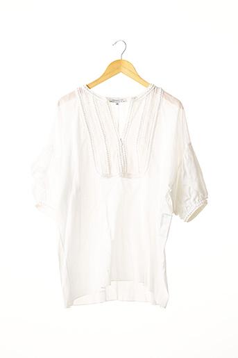 Tunique manches courtes blanc ANDREW GN pour femme