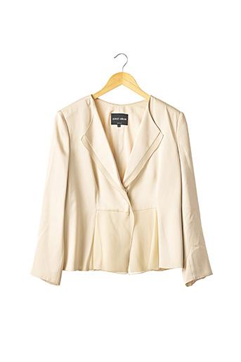 Veste chic / Blazer beige ARMANI pour femme