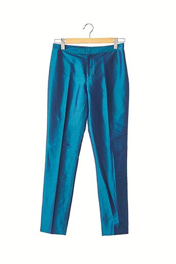 Pantalon 7/8 bleu BLUNAUTA pour femme