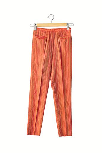 Pantalon 7/8 orange ARMAND VENTILO pour femme