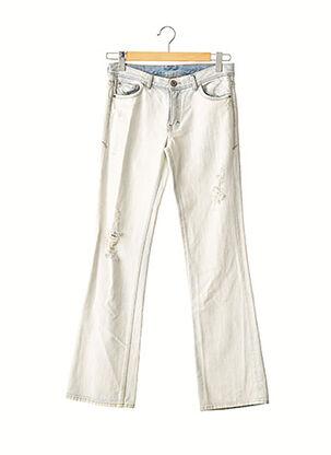 Jeans coupe droite bleu ARMANI EXCHANGE pour femme
