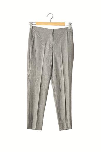 Pantalon 7/8 gris CAROLINA HERRERA pour femme