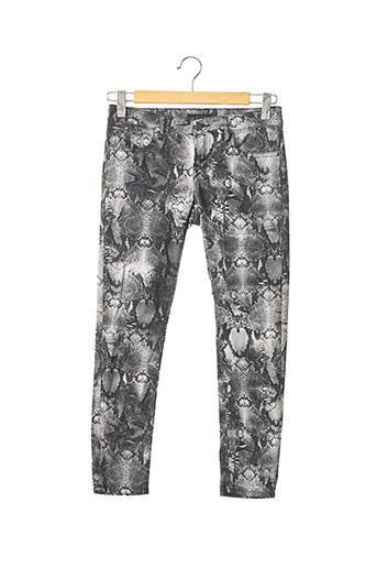 Pantalon 7/8 gris THE KOOPLES pour femme