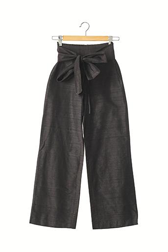Pantalon 7/8 noir ANTOINE & LILI pour femme