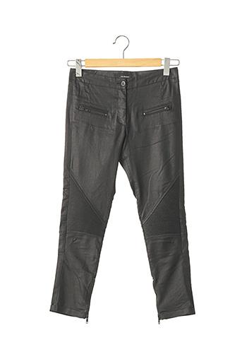 Pantalon 7/8 noir THE KOOPLES pour femme