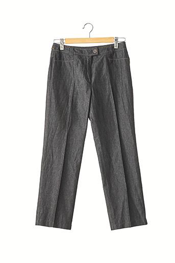 Pantalon casual noir DEVERNOIS pour femme