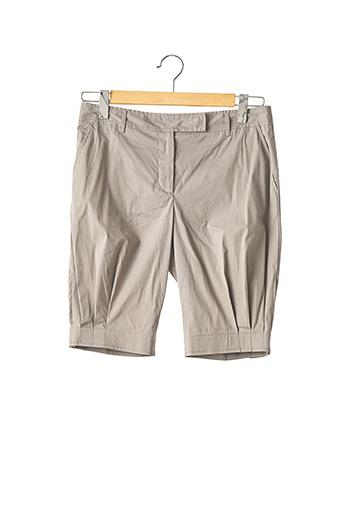 Short gris PRADA pour femme