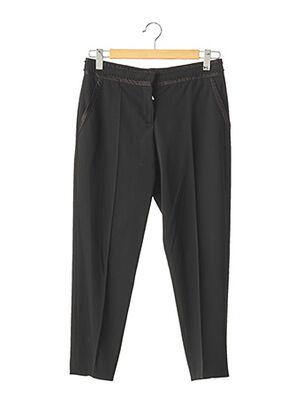 Pantalon 7/8 noir MIU MIU pour femme