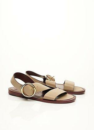 Sandales/Nu pieds beige AVRIL GAU pour femme