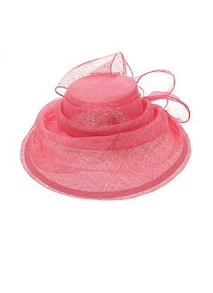 Chapeau rose SANS MARQUE pour femme