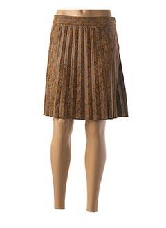 Jupe courte marron ONLY pour femme