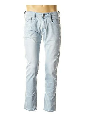 Jeans coupe slim bleu REPLAY pour homme