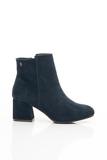 Bottines/Boots bleu CARMELA pour femme
