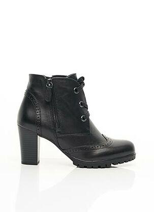 Bottines/Boots noir CAPRICE pour femme