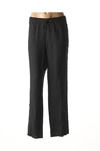 Pantalon casual noir LEBEK pour femme