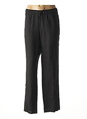Pantalon casual noir LEBEK pour femme seconde vue