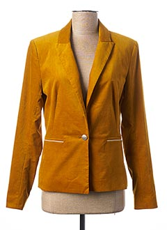 Veste chic / Blazer jaune ONE STEP pour femme