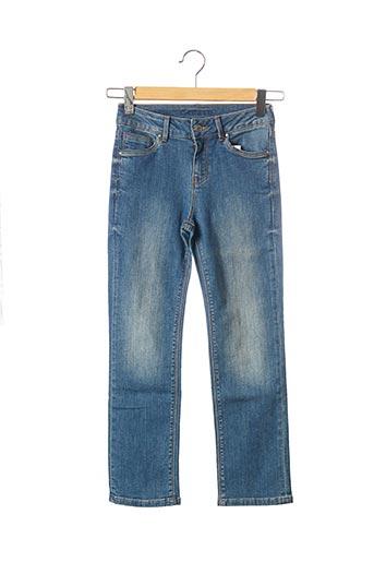 Jeans coupe droite bleu C'EST BEAU LA VIE pour femme