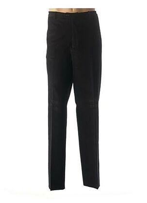 Pantalon casual noir COSSERAT pour homme