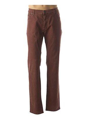 Pantalon casual rouge PIONIER pour homme