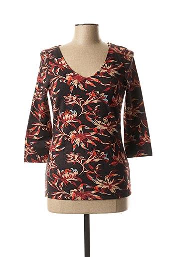 T-shirt manches longues rouge LA FIANCEE DU MEKONG pour femme
