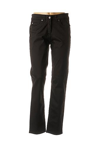 Pantalon casual noir BX pour femme