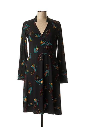 Robe mi-longue noir PRINCESSE NOMADE pour femme