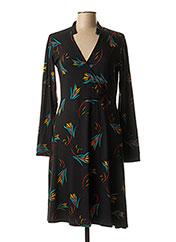 Robe mi-longue noir PRINCESSE NOMADE pour femme seconde vue