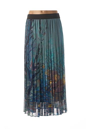 Jupe longue bleu PAUL BRIAL pour femme
