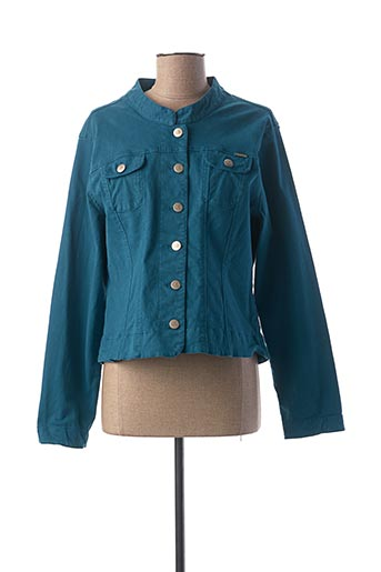 Veste casual bleu PAUL BRIAL pour femme