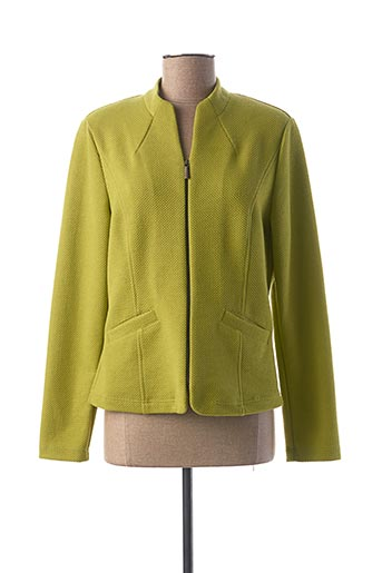 Veste chic / Blazer vert FRANK WALDER pour femme