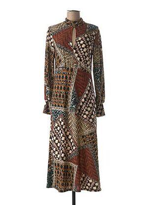 Robe pull marron EMA BLUE'S pour femme