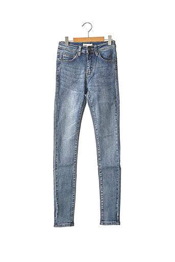 Jeans skinny bleu IMUA pour femme