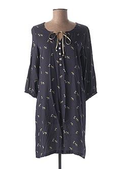 Robe courte bleu SENORETTA pour femme
