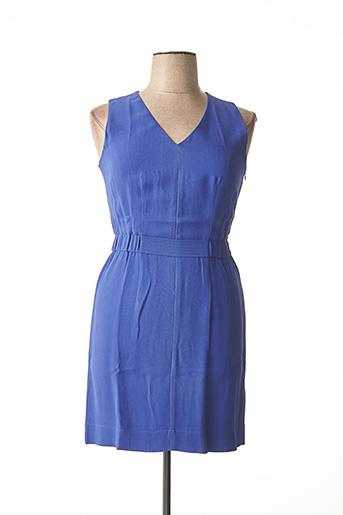 Robe courte bleu ARMANI pour femme