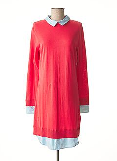 Robe pull orange PAUL SMITH pour femme
