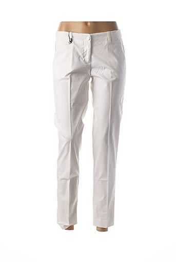 Pantalon 7/8 blanc ARMANI pour femme