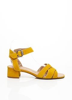 Sandales/Nu pieds jaune GEO-REINO pour femme