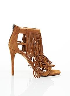 Sandales/Nu pieds marron STEVE MADDEN pour femme