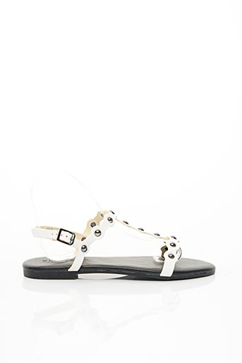 Sandales/Nu pieds blanc BIANCO. pour femme