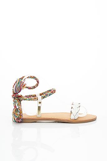 Sandales/Nu pieds blanc LES TROPEZIENNES PAR M.BELARBI pour femme