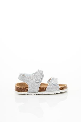 Sandales/Nu pieds gris COLORS OF CALIFORNIA pour fille