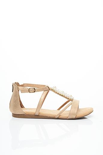 Sandales/Nu pieds beige BULLBOXER pour fille