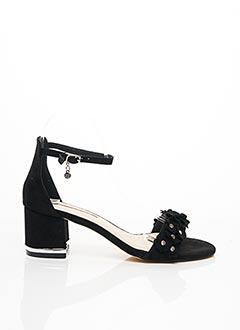 Sandales/Nu pieds noir XTI pour femme