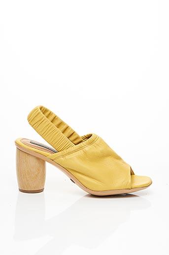 Sandales/Nu pieds jaune NEOSENS pour femme