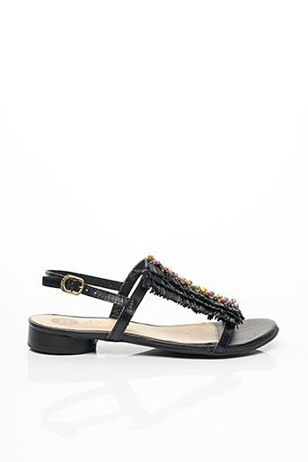 Sandales/Nu pieds noir GIOSEPPO pour femme
