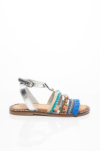Sandales/Nu pieds gris GIOSEPPO KIDS pour fille