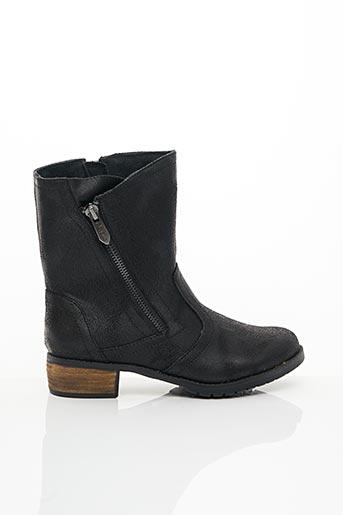 Bottines/Boots noir LES P'TITES BOMBES pour fille