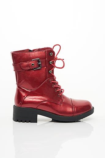 Bottines/Boots rouge LES P'TITES BOMBES pour fille